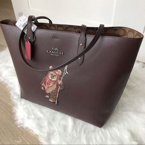 Coach Bags - New Coach STAR WARS X COACH TOWN TOTE WITH EWOK